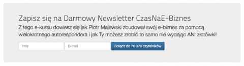 Budowanie listy na profilu użytkownika Ekademii