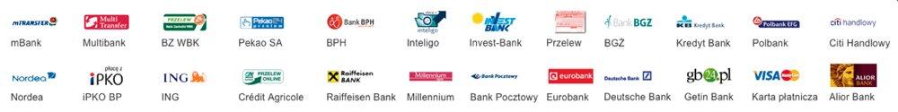 Wszystkie popularne w Polsce formy płatności są obsługiwane przez Ekademia.pl
